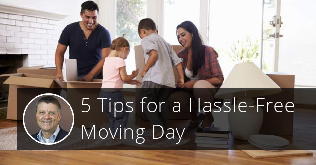 5 Tips for a Hassle-Free Moving Day
