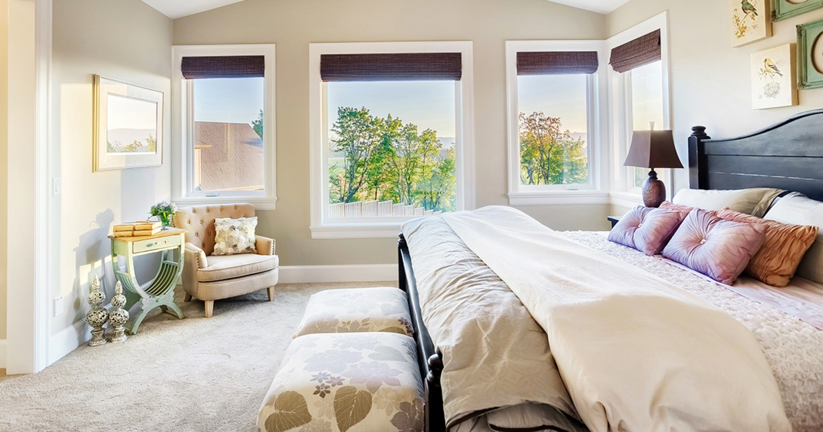 Turn your bedroom into a comforting sanctuary.